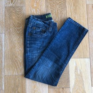 Hydraulic Extreme Slim Nikki Ripped Low Rise Jean